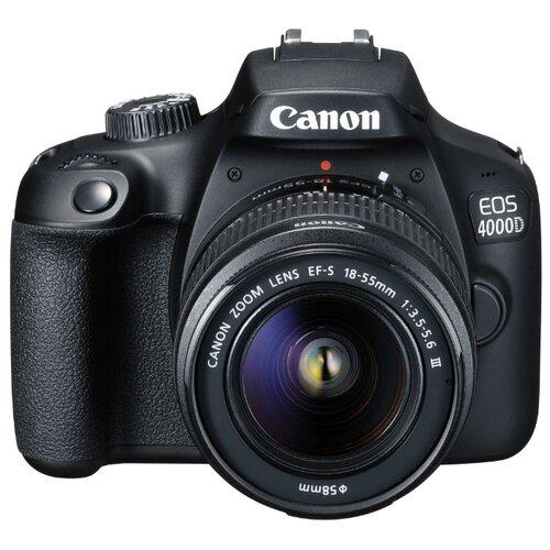 Фото - Фотоаппарат Canon EOS 4000D Kit черный 18-55mm f/3.5-5.6 DC III фотоаппарат