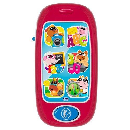 Интерактивная развивающая игрушка Chicco Говорящий смартфон ABC красныйРазвивающие игрушки<br>