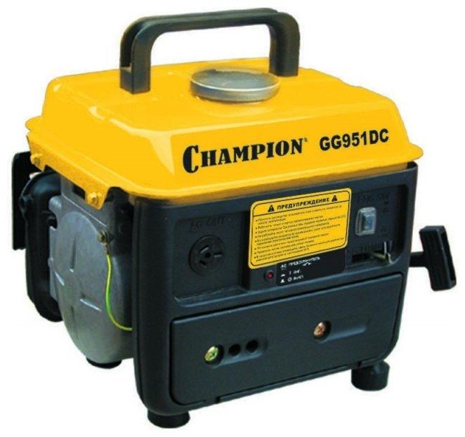 Бензиновая электростанция CHAMPION GG951DC