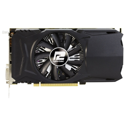 Видеокарта PowerColor Radeon RX 550 1190Mhz PCI-E 3.0 2048Mb 7000Mhz 128 bit DVI HDMI HDCP Red Dragon