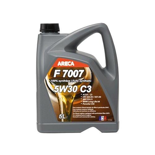 Синтетическое моторное масло Areca F7007 5W30 5 л