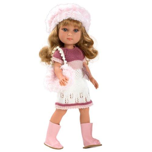 Кукла Arias Elegance в вязаном платье, 36 см, Т11073 кукла arias брюнетка в бежевом платье 33см