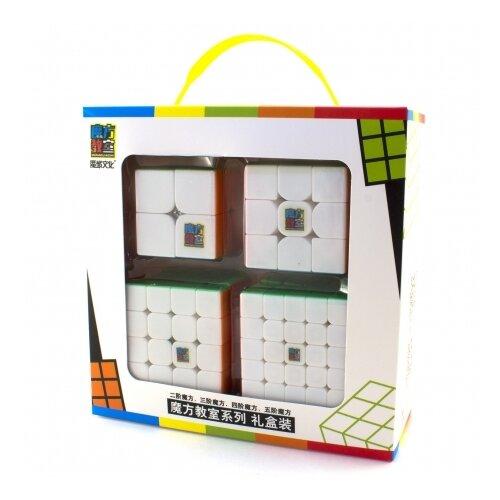 Набор головоломок Moyu 2x2x2-5x5x5 Cubing Classroom SET 4 шт. color