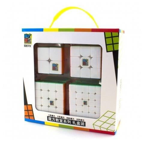 Набор головоломок Moyu 2x2x2-5x5x5 Cubing Classroom SET 4 шт.