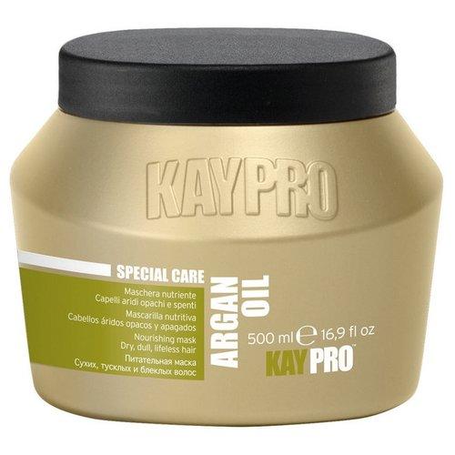 KayPro Argan Oil Маска для волос питательная с аргановым маслом, 500 мл краска для волос kaypro kaypro ka037lwclud4