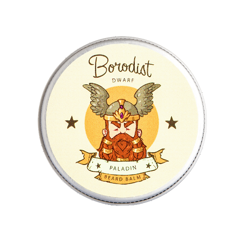 borodist масло для бороды warming Borodist Бальзам для бороды Paladin, 30 г