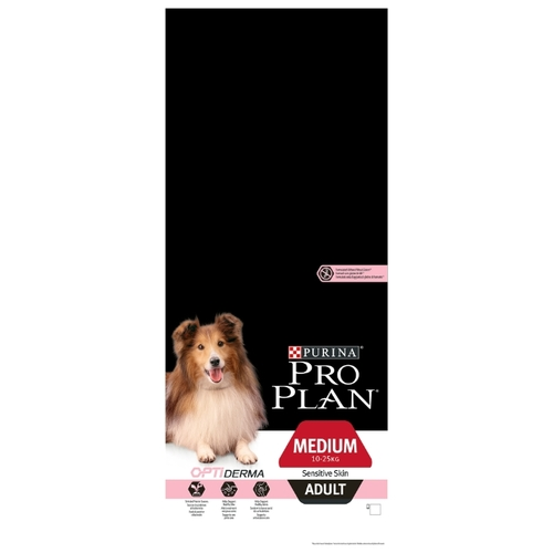 Корм для собак Purina Pro Plan (14 кг) Medium Adult сanine Sensitive Skin Salmon and rice dry