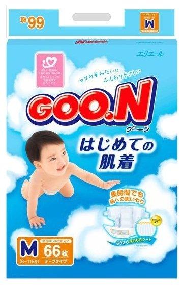 Goo.N подгузники M (6-11 кг) 66 шт.