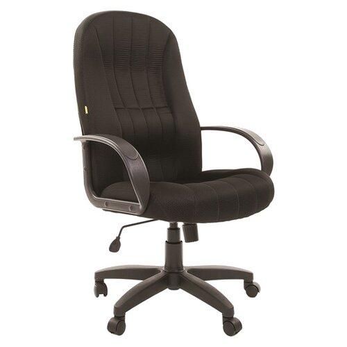 Компьютерное кресло Chairman 685 для руководителя, обивка: текстиль, цвет: TW 11 черный chairman 685 mebelvia