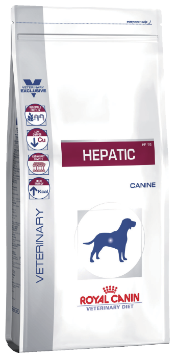Корм для собак Royal Canin Hepatic HF16