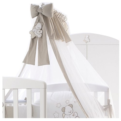 Балдахин с опорой Italbaby Sweet Star кремовый детская кровать italbaby sweet star