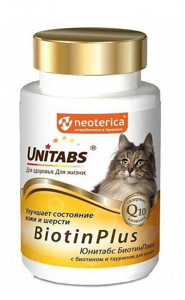 Добавка в корм Unitabs BiotinPlus с биотином и таурином таблетки