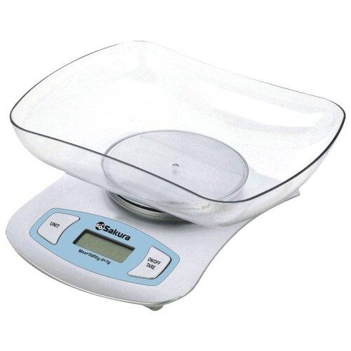 Кухонные весы Sakura SA-6052 серебряный
