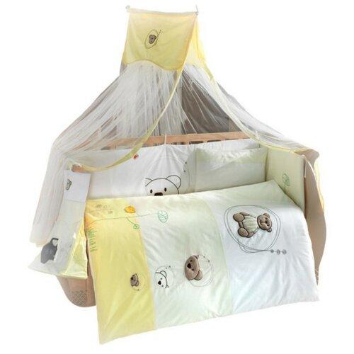 Балдахин Kidboo Little Bear белый/зеленый/желтый