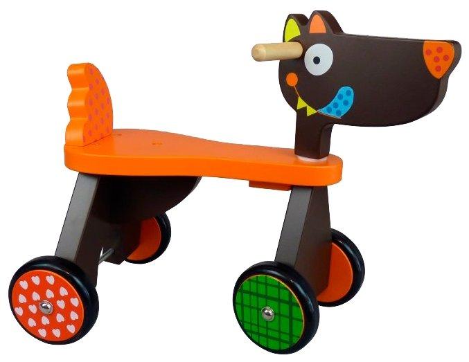 Каталка-толокар Ebulobo Crazy Wolf Ride On (E11008) — купить по выгодной цене на Яндекс.Маркете