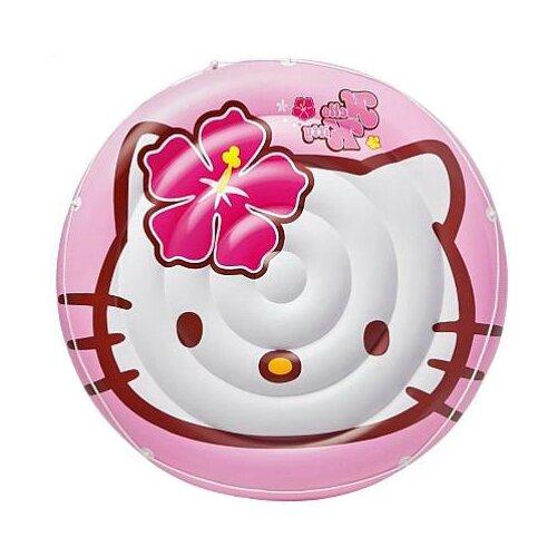Надувной плот Intex Hello Kitty Sanrio 56513 розовый intex надувной плот intex pool school