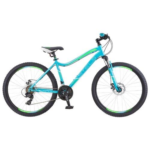 Горный (MTB) велосипед STELS Miss 5000 MD 26 V010 (2019) бирюзовый 17 (требует финальной сборки)Велосипеды<br>