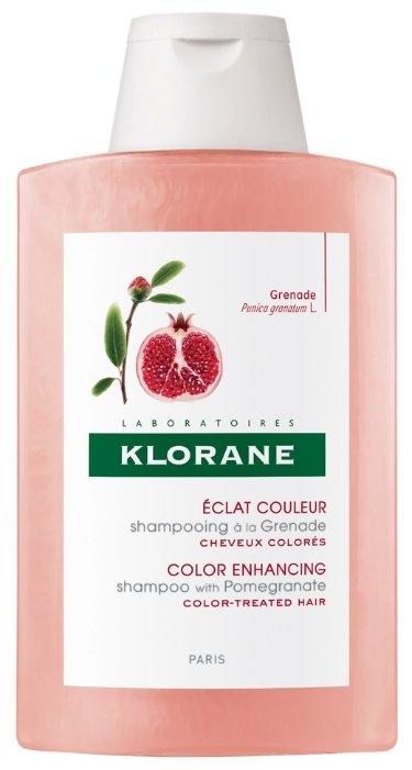 Klorane шампунь Color Enhancing with Pomegranate