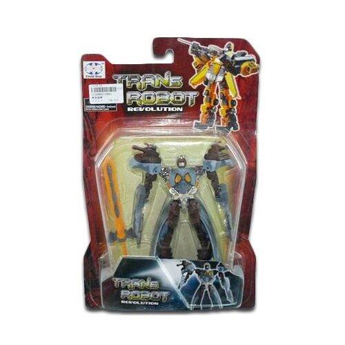 Купить Робот Shantou Gepai Revolution 10801 черно-голубой, Роботы и трансформеры