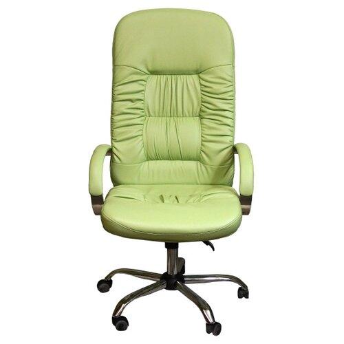 цена на Компьютерное кресло Креслов Болеро КВ-03-131112, обивка: искусственная кожа, цвет: фисташковый