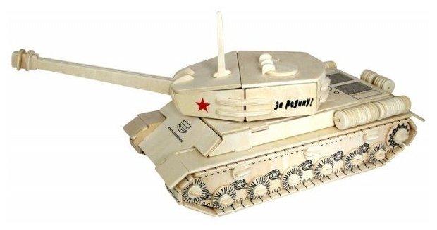 Сборная модель Чудо-Дерево Танк ИС-2 (80035) — купить по выгодной цене на Яндекс.Маркете