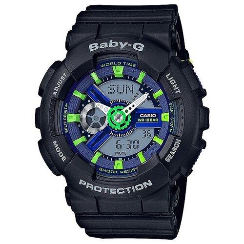Фото - Наручные часы CASIO BA-110PP-1A женские часы casio ba 111 1a