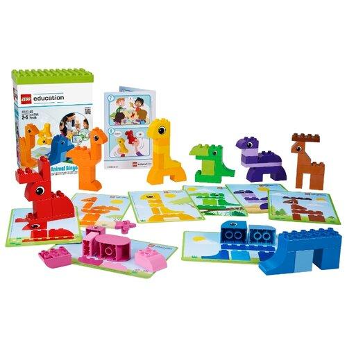 Конструктор LEGO Education PreSchool DUPLO 45009 Лото с животными