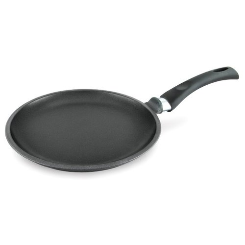 Фото - Сковорода блинная НЕВА МЕТАЛЛ ПОСУДА Ферра индукция 59222, 22 см сковорода блинная нева металл посуда байкал 256224 24 см