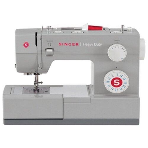 Швейная машина Singer Heavy Duty 4411, серый швейная машинка singer heavy duty 4411 серый