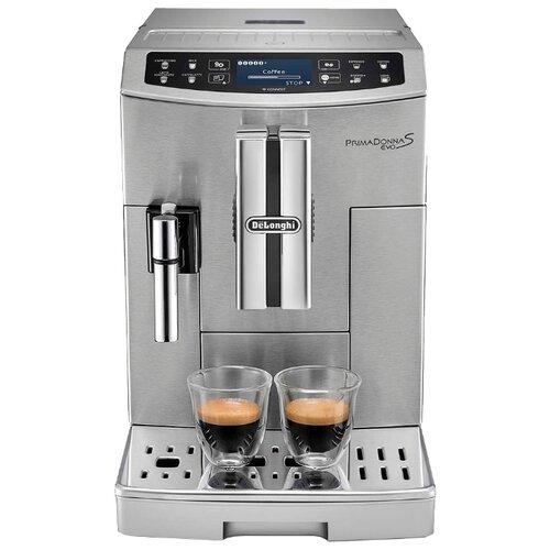 Кофемашина De'Longhi PrimaDonna S Evo ECAM 510.55.M металл цена 2017