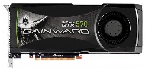 Gainward GeForce GTX 570 732Mhz PCI-E 2.0 1280Mb 3800Mhz 320 bit 2xDVI Mini-HDMI HDCP