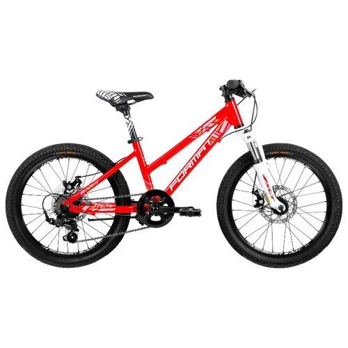 Подростковый горный (MTB) велосипед Format 7422 (2018) красный (требует финальной сборки) цена 2017