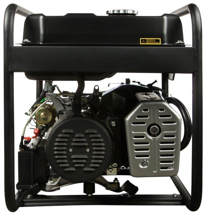 Газо-бензиновый генератор Hyundai HHY 7020FGE (5000 Вт)