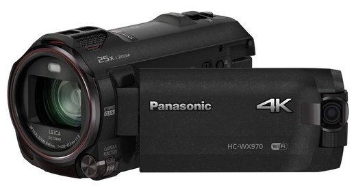 Видеокамера Panasonic WX970 Black