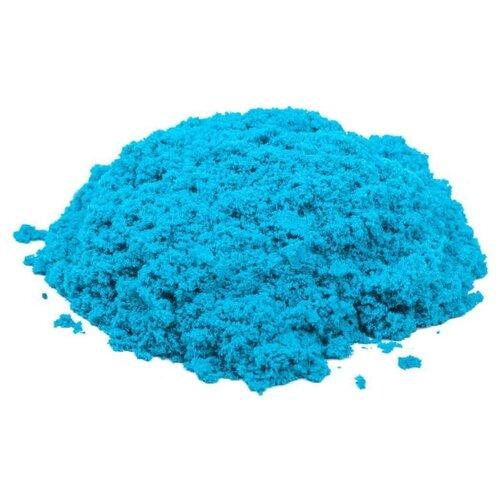 Купить Кинетический песок Космический песок базовый, голубой, 1 кг, пластиковый контейнер