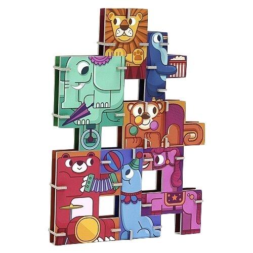 3D-пазл Krooom Цирк (k-801), 7 дет. krooom игрушки из картона 3d пазл монстры k 701