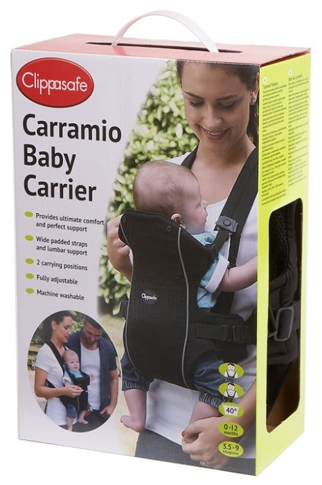 Рюкзак-переноска Clippasafe Carramio