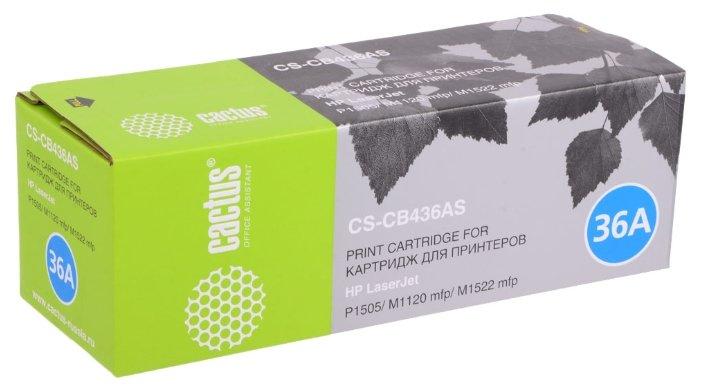 Картридж cactus CS-CB436AS