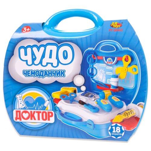 Набор доктора ABtoys Чудо-чемоданчик (PT-00463) магазин abtoys чудо чемоданчик на колесиках продуктовый магазин pt 01272