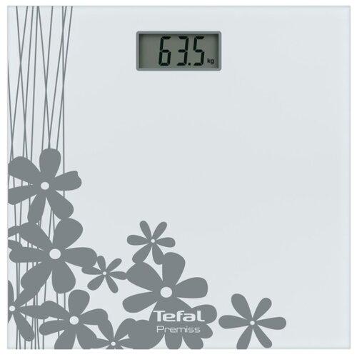 Весы электронные Tefal PP1070 Premiss Flower White весы напольные tefal pp1063 premiss pink