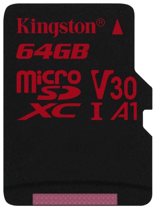 Карта памяти Kingston SDCR/64GBSP