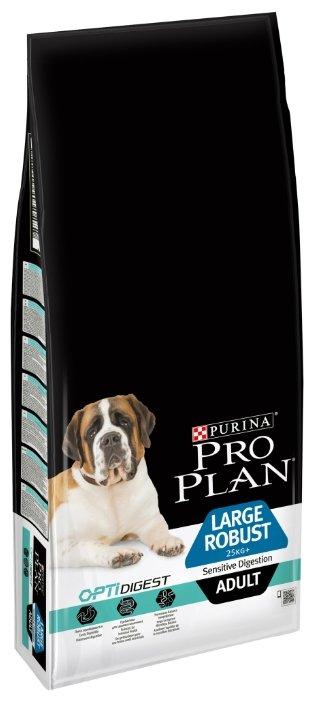 Корм для собак Pro Plan Optidigest ягненок с рисом 14 кг (для крупных пород)