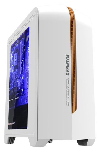 Компьютерный корпус GameMax H601 White (H601WB)