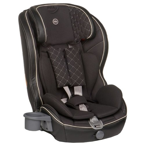 Автокресло группа 1/2/3 (9-36 кг) Happy Baby Mustang Isofix, black автокресло happy baby mustang 2015 gray