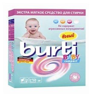 Burti стиральный порошок baby для стирки детского белья 0,9 кг