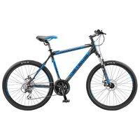 """Велосипед Для Взрослых Stels Navigator 650 Md 26 V030 (2018) 16"""" Чёрный/синий"""
