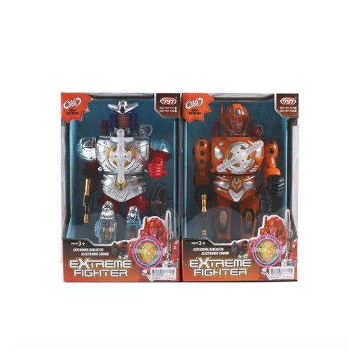 Купить Робот Shantou Gepai Extreme Fighter 797-137/138 оранжево-красный, Роботы и трансформеры