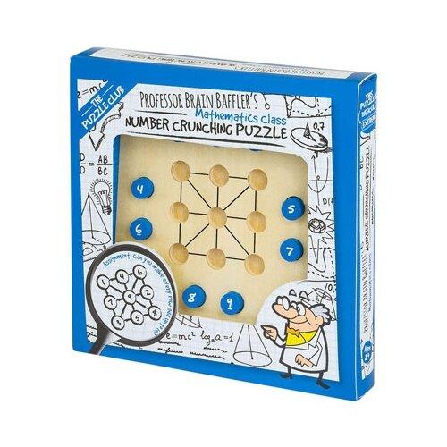 Головоломка Professor Puzzle Professor Brain Baffler's Number Crunching Puzzle (PC1416) бежевый