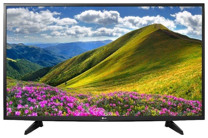 """Телевизор LG 43LJ510V 43"""" (2017) — купить и выбрать из более, чем 4 предложений по выгодной цене на Яндекс.Маркете"""