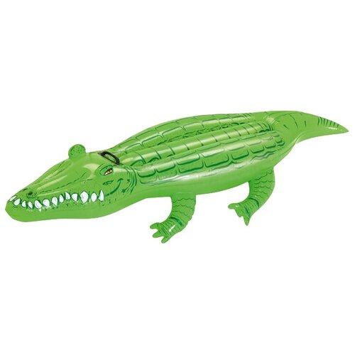 Купить Игрушка-наездник Bestway Крокодил 41010 BW зеленый, Надувные игрушки